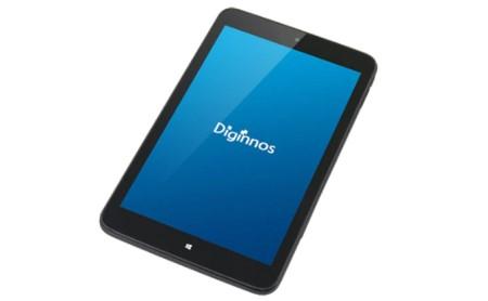 8インチWindowsタブレット サードウェーブ「Diginnos DG-D08IW2SL」