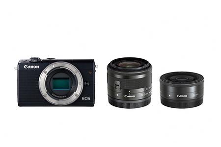 [№5820-0086] ミラーレスカメラ EOS M100 ダブルレンズキット(ブラック)
