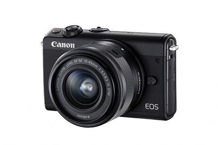 [№5820-0089] ミラーレスカメラ EOS M100 レンズキット(ブラック)