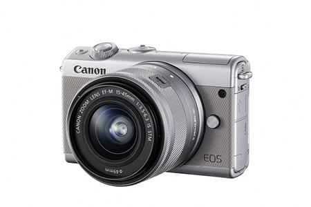 [№5820-0091] ミラーレスカメラ EOS M100 レンズキット(グレー)
