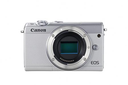 [№5820-0093] ミラーレスカメラ EOS M100 ボディ(ホワイト)