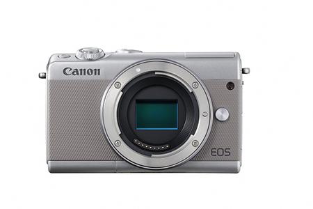 [№5820-0094] ミラーレスカメラ EOS M100 ボディ(グレー)