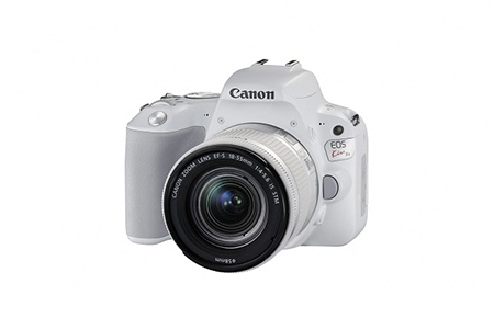 [№5820-0097] 一眼レフカメラ EOS Kiss X9 レンズキット(ホワイト)
