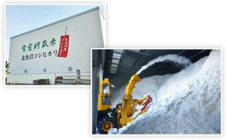 K05-3【3ヶ月連続お届け】北魚沼産コシヒカリ(長岡川口地域)5kg