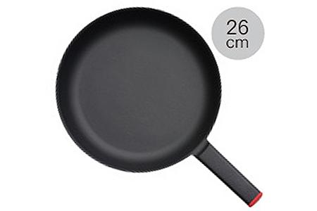 【035P013】[SSC] 薄く 軽い 鋳物フライパン 26cm ブラック