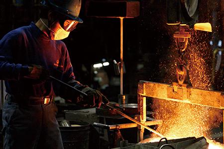 【040P019】[SSC] 薄く 軽い 鋳物北京鍋 29cm