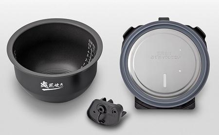 【2633-0155】【新潟産・最高級】東芝真空圧力IHジャー炊飯器 RC-10ZWP(K) 5.5合