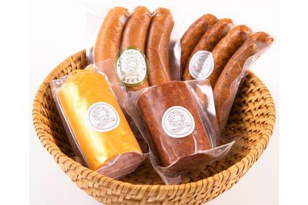 A305 本場の世界品評会で金賞受賞のソーセージと生食できる珍しいドイツソーセージのセット