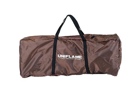 【UNIFLAME】680254 リラックスコット ブラウン×ブラック