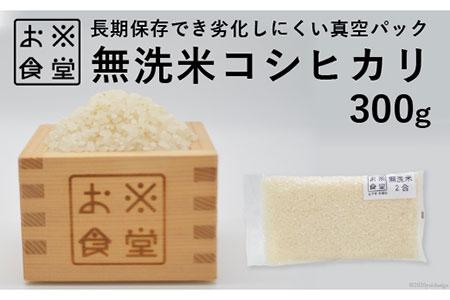 [№5705-0039]真空パックした無洗米300g
