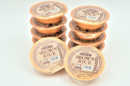 [A085] 能登産玄米パックご飯「はくいブラウンライス」10個セット