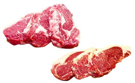 ≪月形熟成牛≫厚切りステーキセット6枚
