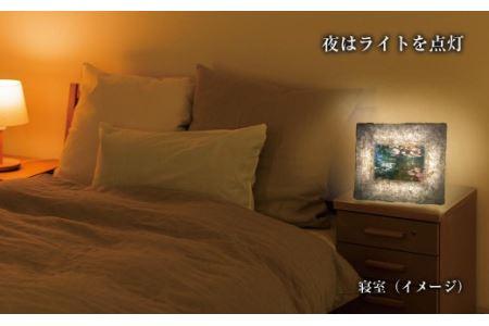 越前和紙と西洋絵画 モネ「睡蓮」2Lサイズ