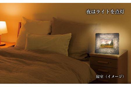越前和紙と西洋絵画 ゴッホ「糸杉のある麦畑」2Lサイズ