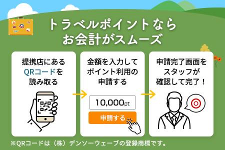 【有効期限なし!旅行で使える】福井県あわら市トラベルポイント