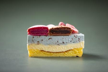 【A1-001】ちょこっときたみント(チョコミントとレアチーズの冷凍ケーキ)