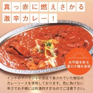 【B8-005】クリシュナ 春夏秋冬オホーツクカリー 各2食 8食セット 手焼きナン付