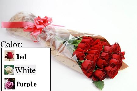 06 バラの花束