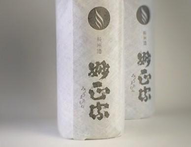 妙正宗 純米酒 1.8L 2本