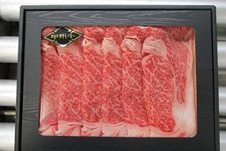 G0-65 甲州牛リブロースすき焼き用