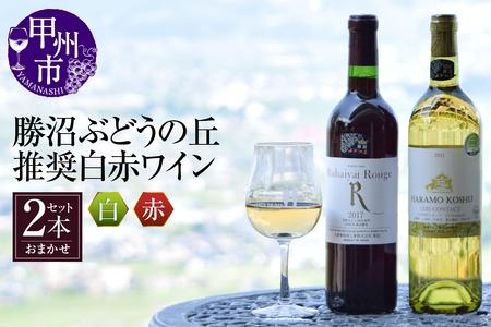 B-603.勝沼ぶどうの丘推奨ワイン 白赤セット