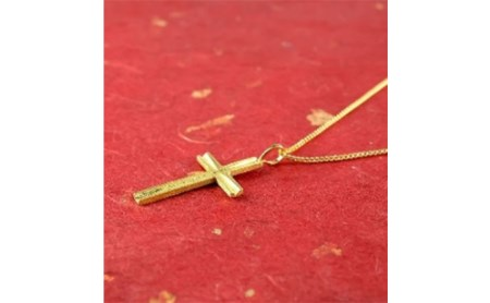 純金ペンダント 十字架