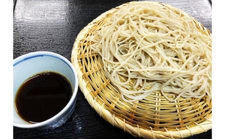 富士の湧水蕎麦