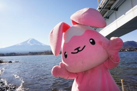 """【2614-0043】富士河口湖町公式ゆるキャラ""""ふじぴょん""""グッズ"""