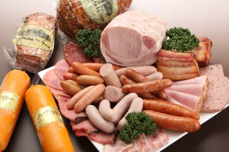 【2614-0090】【富士山麓からの贈り物】山中湖ハムの至粋セット7種盛 ドイツ国際食肉加工コンテストで金賞受賞。