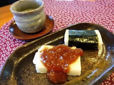 008-036塩田平のきねつき餅セット(餅2袋 あんこ・くるみだれ付き)
