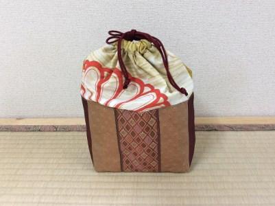 001-046 畳の縁(へり)で作った巾着袋