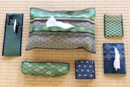 001-049 畳の縁(へり)で作った人気の小物セット