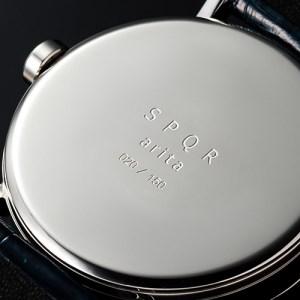 065-003 ≪腕時計 クウォーツ式≫SPQR arita ism small second leather band