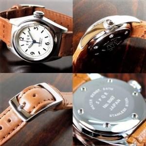 013-019 ≪腕時計 機械式≫SPQR Ventuno fs 文字盤アイボリー【ss】