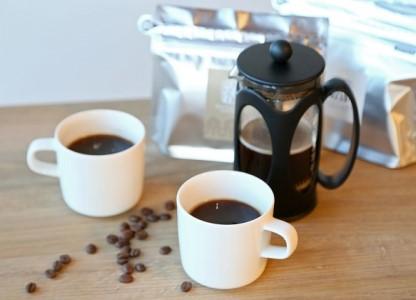 スペシャルティコーヒー&プレスセット(粉)長野 信州 小諸 丸山珈琲 ご当地 ブレンド ギフト お取り寄せ 飲み比べ