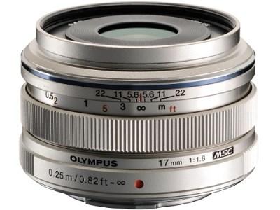 【AQQ-01】交換レンズ M.ZUIKO DIGITAL 17mmF1.8(シルバー)
