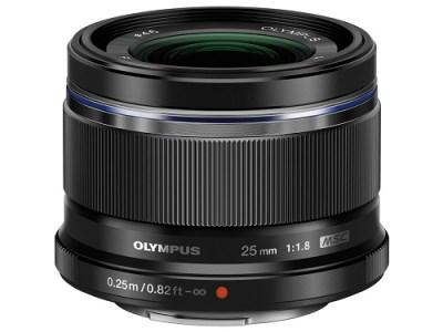 【AOC-02】交換レンズ M.ZUIKO DIGITAL 25mmF1.8(ブラック)