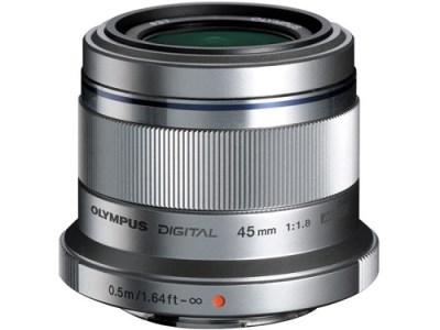【AN-19】交換レンズ M.ZUIKO DIGITAL 45mmF1.8(シルバー)