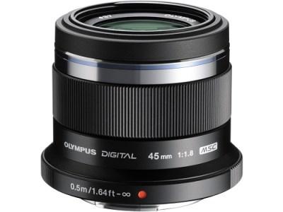【AN-20】交換レンズ M.ZUIKO DIGITAL 45mmF1.8(ブラック)