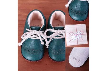 Co.&Kokorone工房・赤ちゃん靴