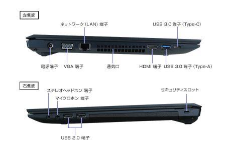 [K]「made in 飯山」マウスコンピューター  スタンダード15.6型ノートPC「m-Book F521BD-S2-IIYAMA」