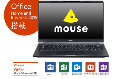 [K]「made in 飯山」マウスコンピューター 14型ノートPC「m-Book  X400S-A-IIYAMA」(Office付属)