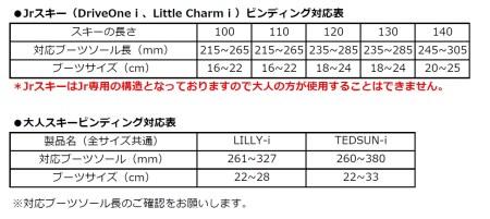D-3 ジュニアスキー LITTLE CHARM i