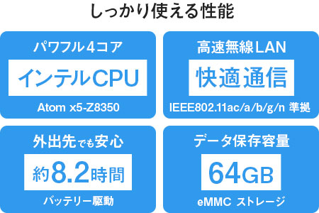 [H]マウスコンピューター 10.1型2in1タブレットPC「MT-WN1003-IIYAMA(キーボード標準セット)」