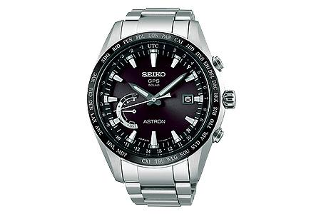 SEIKO アストロン ワールドタイムSBXB085 ブラック(GPSソーラーウォッチ)