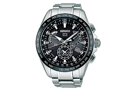 SEIKO アストロン デュアルタイムSBXB045 ブラック(GPSソーラーウォッチ)