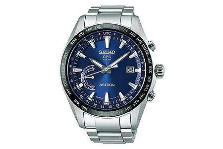 SEIKO アストロン ワールドタイムSBXB109 ブルー(GPSソーラーウォッチ)