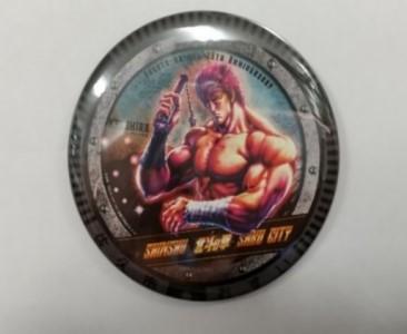 北斗の拳 デザインマンホール缶バッジ
