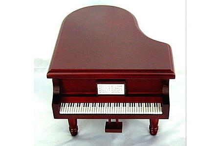 001-015 《18弁オルゴール》 宝石箱(グランドピアノ)