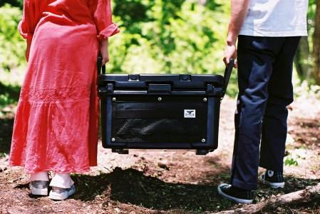 HAKUBA VALLEY OTARI オリジナルクーラーボックス(ブラック)
